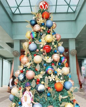 Merry christmas buat semua teman-teman yang merayakan 🥰 semoga damai natal menyertai kalian dan melingkupi keluarga kalian dengan kesehatan dan kebahagiaan. Amin!Christmas di #Singapore tu vibes nya berasa banget, pohon natal dimana-mana, lampu warna warni bikin pohon natalnya makin cantik. Thanks God tahun ini kami bisa merayakan natal di Singapore, semoga berkat natal juga bisa kalian rasakan ya. #merrychristmas🎄 #christmasinsingapore #visitsingapore2019 #singaporechristmas #christmasinSG #christmast2019 #clozetteID