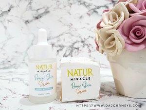 Akhirnya review lengkap Natur Miracle Renew Skin Serum sudah up di blog. Reviewnya bisa cek di blogpost aku terbaru ya 😊 di link hidup di bio pastinya.Disana aku bahas tentang ginseng dan probiotic yang jadi bahan utama serum ini. Karena banyak yang belum paham apa saja fungsi kedua bahan tersebut buat kulit.Thank you @backtonatur @jakartabeautyblogger buat kesempatannya mencoba serum ini 🥰 #JakartaBeautyBloggerFeatBackToNatur #NaturSkinCare #DropsofMiracle #MiracleStartsHere #JakartaBeautyBlogger