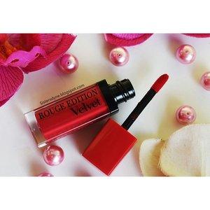 Mau memiliki polesan bibir selembut beludru??? Mesti coba product lip cream velvet dari @bourjoisid *lebih lengkap baca review nya di blog kita | sistersdyne.blogspot.com  #Clozette #ClozetteID  #Beauty #Makeup #LipCream #Lippie #LipJunkies #Bourjois #LipCreamVelvet  #Shade #Frambourjoise #RedPinkieShade #Review #Share #DASistersblog #DASisters  #BeautyBlogger #BBlogger #BeautyBloggerIndonesia #IndonesiaBeautyBlogger #BBloggerID #BeautiesID #BeautyInsta #BeautyInstagram