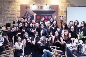 Thank you for having me @makeovercosmetics  #Clozette #Clozetteid #Beauty #Makeup #Setyourbase #makeover #makeoverid #complexion #eventblogger #bbloggers #bvloggers #dasistersblog #cosmetics #instabeauty #instamakeup #instadaily