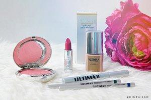 Akhirnya hampir lengkap, koleksi makeup dari @ultima_id 💋 | btw, kamu juga bisa baca review lengkap tentang ULTIMA II Wonderwear di www.sistersdyne.com yaaa . #Clozette #Clozetteid #beauty #Makeup #UltimaII #Liquid #Foudation #Semi #Matte #Ivory #Ocher #Buff #BeautyUndefeated #FDBlogger #fotdibb #FOTD #MOTD #HOTD #Hijab #Hijabers #Hijabi #Hijabstyle #makeuptalk #instadaily #instamakeup #intaabeuty #dasistersblog #Longlast #Light #collection