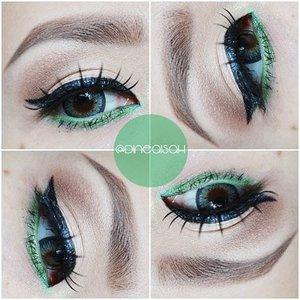 Eyes of the day, Natural Shadow 😆 #Eyebrow @viva.cosmetics  #Eyeliner @lagirlcosmetics Eyegel lime green  #Eyeshadow @thebalmid Nude Dude Vol.2 #Softlens Ageha @japansoftlens Lunatia in grey #Highligting @sleekmakeup Kit  #Clozette #Clozetteid #beauty #makeup #eyemakeup #wingeyeliner #Waterline #limeGeen #lagirlcosmetics #Ageha #lunatia #grey #japanproduct #japansoftlens #instamakeup #instaeyemakeup  #zukreat #vegas_nay #motdindo #Bbloggers #beautybloggerid #indonesiabeautyblogger #dasistersblog #anastasiabeverlyhills