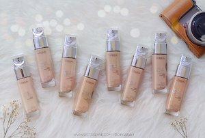 Happy weekend sunshine 🌞 sudah pilih shades yang paling match kamu di @getthelookid L'oreal True Match Foundation? Cek swatch lengkapnya di www.sistersdyne.com . #Clozette #Clozetteid #Beauty #Makeup #Complexion #Foundation #LiquidFoundation #Bloggerreview #Bloggers #BeautyBloggers #BBloggers #Lorealmakeup #MYTrueMatch #MYTrueMatchID #Basemakeup #WarmUndertone #Skintone #makeupnatural #MOTD #FOTD #HOTD #Hijabers #Hijabstyle #DASistersBlog #Instamakeup #instabeauty #instagood #swatch #bokeh