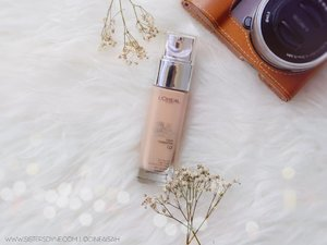 Truly match with G2 - Gold Porcelaine L'oreal True Match Liquid Foundation . #Clozette #Clozetteid #Beauty #Makeup #Complexion #Foundation #LiquidFoundation #satin #semimatte #Bloggerreview #Bloggers #BeautyBloggers #BBloggers #Lorealmakeup #MYTrueMatch #MYTrueMatchID #Basemakeup #WarmUndertone #Skintone #porcelaine #DASistersBlog #Instamakeup #instabeauty #instagood #swatch #shade #gold #bokeh #dreamy