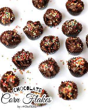 Haloo teman - teman.. Dalam rangka menyambut #TahunBaruIslam 1 Muharram #1442H , #ChefKifta  masak camilan nihhh..   #ChocolateCornFlakes untuk dimakan bareng temen - temen sepeda club.. 🤤  Untuk step by stepnya, temen2 bisa swipe yaaa.. Ini gampang banget bikinnya 🥰  . #foodphotography #foodstyle #foodoftheday #foodshare #foodstyling #foodgram #foodphotographyandstyling #foodphotographyprops #foodphotographyjakarta #foodshot #foodstagram #instafood  #foodpic #yummy #FoodBlogger #ClozetteID #SmartMumsID  # 💕