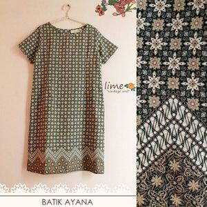 Batik Ayana  Material sandwash  Www.limevintageme.com Sms / wa 081286212177  #batikmodern #batikday #batikindonesia #batik #batikdress #localbrand #limevintageme #yellowdress #indielabel #clothing #clozetteid #clothingline #potd #photooftheday #olshopindo #onlineshop #trustedseller #handmadedress #jakarta