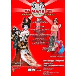 AI MATSURI!  1 Februari 2015 di Taman Budaya Sumatera Barat!  #JapaneseFestival #culture #event #Padang  @clozetteid #clozetteid