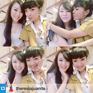 I love you to the moon and back 😛 Enjoy the long weekend ya! See u next week.. #cotw #clozetteambassador #clozettegirl #clozettesisterhood #weekend #sisterhood  #Repost @theresiajuanita with @repostapp.
