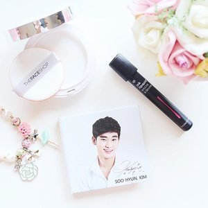 Look at the handsome face of #KimSooHyun. Hope I have radiance skin like him. Anyway, I still loving the new cushion from @thefaceshopid. love the coverage also the oil control power. It comes in handy for lazy day makeup 😙😚😉. #clozetteid #howcushionyouare #koreanmakeup #JeanMilkaFaves #TheFaceShop #cushion #kawaiibeautyjapan #makeup #beauty