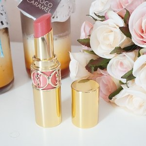 This lipstick is so pretty... can't stop look at it 😍😘😙😚 #ysl #ysllipstick #myysl #clozettedaily #clozetteid #beautyaddict #beautyhaul #beautyblogger #beautyaddict #indonesianblogger #indonesianbeautyblogger #makeup #makeuphaul #makeupaddict #makeupjunkie #haul #lipstick #lip