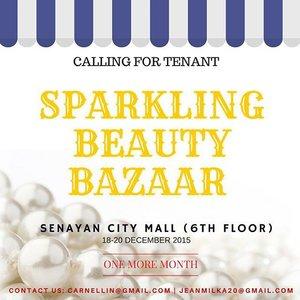 Calling all beauty brands and bazaar mania, @bbmeetup still open for tenant registration. For more info, you can contact me at jeanmilka20@gmail.com. Don't miss it 🤗😄 . . #bazaar #bazaarjakarta #bazaarph #beauty #beautybazaar #onlineshop #shopping #sparklingbeauty #senayancity #bazaarindonesia #clozetteid