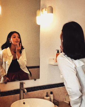 Life can only be understood backwards, but it must be lived forwards. Learn to love the reflection you see in the mirror. xoxo__#ClozetteID #bloggerbabesid