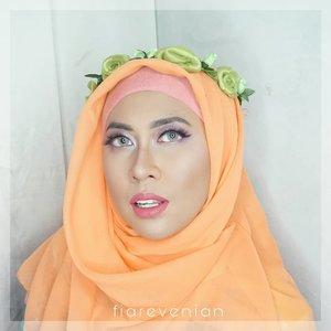 When you're not ready but you got shot by your hubby.....#fiarevenian #selfie #celfié #makeup #makeupaddict #love #indonesia  #beautybloggerindonesia #makeup #hijab #hijabi #fashion #dinatokio #ClozetteID