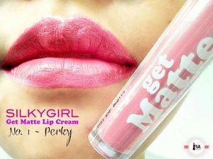 """@silkygirl_id Get Matte lip cream """"Perky"""". . . Sweet pink with a hint of coral. It's so pretty and is the most favorite out of the collection!!!! . . Check out clickable link at bio for my review! . . #lipstick #lipcream #love #pinklipstick #pinklips #silkygirl #silkygirlcosmetics #silkygirlgetmattelipcream #beautiful #pretty #Indonesia #byFiarevenian #beautyblog #clozzeteid #clozetteid #beautyblogger #beautybloggerindonesia #clozette #mommyblogger #lipswatch #lipstickhoarder #lipstickaddict #lipsticklover #makeup #makeupaddict #makeuplover #makeuploverfreak #bloggerlife #beautybloggerid #IndonesianFemaleBloggers"""