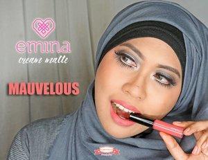 "Lipstick is my KICK! Jadi gw baru saja ""menelurkan"" sebuah review tentang @eminacosmetics CREAMATTE warna Mauvelous! Tapi..... Ada tapinya ganks! Coba cek dulu ke #FiarevenianBeautyBlog yah ➡ http://bit.ly/eminalipcream . . . #emina #eminacosmetics #eminalipcream #eminacreamatte #beautybloggerindonesia #indonesia #kosmetikindonesia #lipcream #mattelipcream #lipcreammatte #love #indonesianbeautyblogger #beautyblogger #beautybloggerid #makeupaddict #lipstick #makeuplover #makeupfreak #KBBVmember #KBBV #clozetteid #IBB #IFB #hudabeauty  #IndonesianFemaleBloggers"