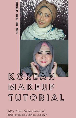 "Another collaboration video! Kali ini gw dan @hani_noer27 bikin video lagi yang temanya Korean Make Up dan featuring semua produk K-Beauty yang kita punya! Spesial banget pake telor dadar soalnya gw bikin versi Glow make up dan Hani bikin versi Glam make up! Buat yang penasaran kek mana kita bikin masing2 versi, tonton terus sampe abis! Seperti biasa, produk yang dipakai, akan ditulis di bawah. • 🎵 Chung Ha - Stay Tonight. • PRODUCTS SHOWN: ▪︎▪︎@vdl_cosmetics Lumilayer Primer ▪︎▪︎@cathydollindonesia CC Cushion No.5 ▪︎▪︎@altheakorea Flawless Creamy Concealer No.2 ▪︎▪︎ @innisfreeindonesia No Sebum Blur Powder ▪︎▪︎ @clio_official Tinted Veil Blusher No.2 ▪︎▪︎ @thefaceshopid Style My Eyebrow No.2 ▪︎▪︎Althea Flawless Creamy Concealer No.4 ▪︎▪︎ Althea X @bclsinclair Eyeshadow Palette Sunrise Moonrise ▪︎▪︎@etudeofficial Oh M'Eye Line ""Brown"" ▪︎▪︎@missha.id 4D Mascara ▪︎▪︎Althea Watercolor Cream Tint ""Marron Cream"". • • #fiarevenian #fiarevenianmakeup #fiareveniantutorial #koreanmakeup #koreanbeauty #kpop #koreanpop #koreanwave #beautybloggerlife #makeuptutorial #clozetteid #indobeautyblogger #indonesia #indonesianfemalebloggers #kbbv #KBBVmember #makeuplover #makeupaddict #kbeauty #beautiesquad #kbeautylover #ragamkecantikan #hudabeauty #hijabers_indonesia #hijabi #modestfashion #beautybloggerid #beautybloggerindonesia"