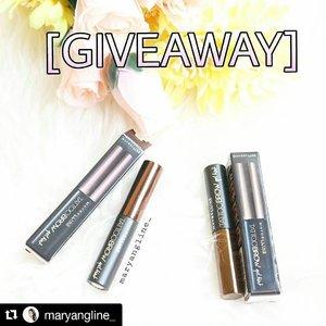 #Repost @maryangline_ (@get_repost) ・・・ #MaybellineIndonesia #BrowLastForDays #MaybellineXSociolla . . #sociolla #maybelline #maybellinetattoobrow #clozetteid #instagood #makeupjunkie #makeupaddict #giveaway #giveawayindo #giveawayindonesia