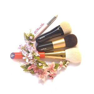 Little fatty koyudo 😍😍 #koyudo #pink #hakuhodo #vermillion #beautyshareit #fupa #tagsforlikes #brush #love #like #fdbeauty #clozette #clozetteid #makeupjunkie #potd #motd #makeupbrush #femaledaily