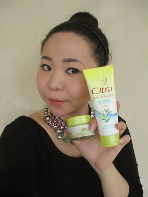 Hello Clozetters, weird isnt it to see me in such a natural look? I have been adding 2 new products into my skincare routine. It has helped me with the spots, not fully though but it is getting better. I pick Citra Japanese Rice with Green Tea Extract as it has the ability to fade the spots. Now, let's play a game and show me your 'no makeup' makeup look with #citraberaninatural and let's share our 'no makeup' makeup look and inspired others!