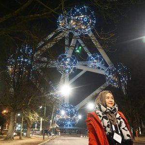 Just realized I haven't posted anything here for quite some time, guess I'm too busy with my real life because of all the deadlines. Here is a mandatory picture to take in Brussels, in front of Atomium..#throwback #whileinbelgium #Brussels #Belgium #atomium #wintertrip #eurotrip #clozetteid #indonesianfemalebloggers