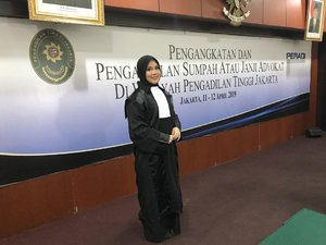 Advokat, Officium Nobile .#latepost #advocate #lawyer #sumpahadvokat #peradi #motd #fotd #clozetteid