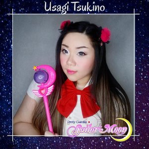 Probably the most exciting collab theme for me, my childhood heroes : Sailor Moon Collab!  The first time i got so excited and actually went to purchase tidbits (usually i use whatever i have lying around haha). Do note that this is an inspired look, a bit like Disney-bounding but this is a Sailor Moon-bounding, not a cosplay (some of my friends are a lot more elaborate tho!).  Not exactly a fan of Usagi (i mean... Most of the time i cannot stand her 🤣), my fave are Mars and Pluto, but i decided to snag Sailor Moon because of her color palette haha.   The full lineup :  1. Mindy @mgirl83 as Sailor Moon 2. Aiyuki @aiyuki_aikawa as Tuxedo Mask 3. Ine @inegunadi as Luna  4. Bella Sandra @bellasandraa_ as Artemis  5.  Anita @anita_bee as Sailor Saturnus  6. leonita @leonita_wenny as Merkurius 7. Lena @magdalena_bhe as Venus  8. Ochix @ochix_zakiyah as Mars  9. Chels as Jupiter  10. Gadis @gadzotica as Pluto  11. Angelika @banieun08 as Neptunus  12. Ryen @hincelois_jj as Uranus 13. Vallerine @vallerinechristaballe as Chibiusa  14. Auzola @auzola as Serenity 15. Yunika @yunikatartila as Princess Ceres .  #clozetteid #BeauteFemmeCommunity #sailormoon #sailormooncollab #thematiclook #thematicmakeup #anime #sailormooninspired #sbybeautyblogger #makeup #ilovemakeup #clozetteid #sbybeautyblogger #bloggerceria #beautynesiamember #bloggerperempuan #indonesianfemalebloggers #girl #asian  #bblogger #bbloggerid #influencer #influencersurabaya #influencerindonesia #beautyinfluencer #surabayainfluencer #jakartabeautyblogger #SURABAYABEAUTYBLOGGER #makeuplook #beautysocietyid