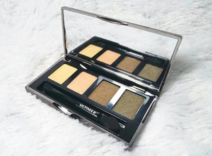 I've been wearing this @ultima_id Wonder Wear Eye Posh Color Quad in 07 True for my everyday simple eye makeup lately.  Swipe to see the swatches and go to http://bit.ly/ultimaquad for the full review  #ultimaid #ultimaii #ultima2 #eyeshadow #eyeshadowquad #ultimaiieyeshadow #review #eyeshadowreview #sbybeautyblogger #clozetteid #beautynesiamember #bloggerceria #allaboutmakeup #makeupaddict #makeupjunkie #ilovemakeup #blogger #bblogger #bbloggerid #beautyblogger #indonesianblogger #indonesianbeautyblogger #surabayablogger #surabayabeautyblogger #influencer #surabayainfluencer #influencersurabaya #beautyinfluencer #beautyaddict