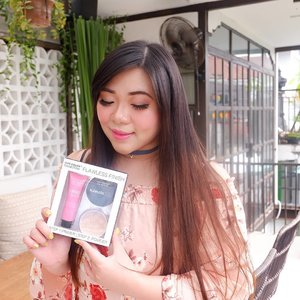 Hello!Today i want to share my thoughts on this super economical set from @citycolorcosmetics (for best price, get it from @kumurabeauty !). This base duo is called the Flawless Finish set and consists of a primer and a loose powder for only IDR 115K!The primer is pretty thick and has a more minimizing (your skin would look smoother instantly, pores would be filled and blurred out), smoothing, matte effect. It makes base makeup application easier and faster. I don't find it making oil control better, but if you're looking for a smoothing primer to achieve flawless skin look, this can be considered. A word of advise tho, pore filling primer can clog your pores if you use it continuously so do use it sparingly (a few times a week should not hurt but avoid everyday usage) and only on days when you need your skin to look poreless.The Natural Loose Powder is really lovely as well, i usually don't find loose powder's coverage to be enough but this one has some coverage and neutral color that it maximizes the effect and coverage of the base i am using (i looked like i had a full makeup day when in fact i was only using the primer, tinted moisturizer and the loose powder)! It is very soft too, and i can safely say that it's one of the nicest loose powders i've tried in a while.Overall i really enjoy using this set and for the low price range, i would not hesitate to recommend this to all of you!#citycolor #citycolorcosmetics#makeupset #cheapmakeupset #kumura #kumurabeauty#clozetteid#sbybeautyblogger#bloggerindonesia #bloggerceria #beautynesiamember #girl #review  #influencer #beautyinfluencer #recommendedonlineshop #onlineshop #surabayablogger #SurabayaBeautyBlogger #bbloggerid #beautybloggerid #beautybloggerindonesia #surabayainfluencer #influencersurabaya #bloggerperempuan #endorsement #endorsementid #endorsersby #onlineshopmurah