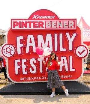 Xpander Pinter Bener Family Festival seru banget  lho, fun for the whole family karena banyak kegiatan dan games seru - psttt bisa dapet hadiah juga lho games-games nya!  Oya Xpander Pinter Bener Family Festival (XPBFF) juga  akan hadir di kota-kota besar lainnya lho, jangan sampai ketinggalan ya makanya follow @mitsubishimotorsid juga bisa update dan dapat info lebih lanjut ya!  #PilihXpanderPinterBener #XpanderPBFF #PBFFSurabaya #kumparanPBFFSBY #event #eventsurabaya #surabaya #surabayaevent #girl #clozetteid  #sbybeautyblogger  #bloggerindonesia #bloggerceria #bloggerperempuan #indobeautysquad  #influencer #beautyinfluencer #surabayainfluencer #surabayablogger #influencersurabaya  #indonesianbeautyblogger  #bloggerid #bblogger #bbloggerid #SurabayaBeautyBlogger #lifestyle #infoevent #infosurabaya #lifestyleblogger