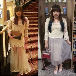 More #mixandmatch #tips , one top different skirts for different looks! a #lacetop can be worn for formal and less formal ocassion, depending on the items you pair or with! Oh, and different hairstyles matters too! #girl #asian #outfit #fashion #clozetteid #blogger #bblogger #fashionblogger #indonesianblogger #indosianfashionblogger #surabayablogger #surabayafashionblogger