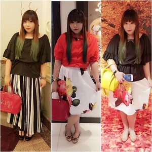 #mixandmatch #tips #fashion invest on solid colored, comfortable tops-i love my black top with ruffle sleeves, i can imagine pairing it with countless bottoms that i have!  Floral skirts with array of colors in is also a piece that can be paired with lots of tops, black and white of course can be worn with anything, but that's not all! You can also pair them with any tops in the color family of those flowers' colors #endlessoptions #maximizeyourwardrobe  #blogger #bblogger #beautyblogger #indonesianblogger #surabayablogger #fashionblogger #indonesianfashionblogger #surabayafashionblogger #ootds #ootdid #clozetteid #girl #asian #youdonthavetobeasize0