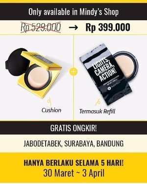 Special promotion on my current go to cushion @superfacestudio Zoom In Mesh Cushion only at my @hicharis_official shop (also FREE SHIPPING to Jabodetabek Surabaya and Bandung!) https://hicharis.net/mindy83/dQS (you can click the link on my bio). Very limited time so if you are interested then you should shop now!#promo #specialpromo #promotion #charisceleb #charis #superfacezoominmeshcushion #superface #cushion #specialprice #zoominmeshcushion #clozetteid#sbybeautyblogger#bloggerindonesia #bloggerceria #beautynesiamember #influencer #beautyinfluencer #kbeauty #koreanbrand  #koreanbeauty #onlineshop #surabayablogger #SurabayaBeautyBlogger #bbloggerid #beautybloggerid #beautybloggerindonesia #surabayainfluencer  #bloggerperempuan