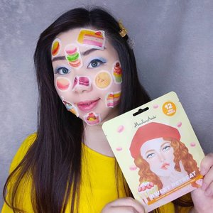 I honestly have mixed feelings about this mask set from @maskeraidebeauty - But let's start with the positives (because there are a lot of them!) :+ It's ridiculously cute!+ The concept is fun and it makes doing your mask fun, which is helping in my case because i don't particularly enjoy the hassle of applying facial mask 🤣!+ It has a sweet, tantalizing scent. I don't usually like strong scents when it comes to my skin care (esp if it smells like flower/baked goods/artificial fruit) but this one is so mouth wateringly sweet i forget to feel weird about it (but it has no negative side effect so no worries for me).+ It has thin sheet pieces and the serum is watery so the serum delivers fast to my skin and application time is shorter than regular, super wet, slimy sheet masks.+ It really works to make my skin hydrated without the overbearingly sticky and greasy effect most Korean sheet mask seems to give me.In the meantime i am concerned about :- How the sheet pieces are so thin yet there are a truckload of the watery serum left in the package, the amount of the serum (and it's really really thin and watery too, almost like water so you can totally spill it all over if you're not careful) left is really overwhelming and even though i use it all over my body+husband's i can't help to think most people would probably dump it? Seems like such a waste for me.- Since the sheets are so thin and in smaller pieces, they don't hold all that much serum (hence the leftover), i worry about how effective the mask set would be for drier skin that needs more hydration, they might not get the full potential of the mask because of the concept.However, it is still a great product that i will definitely use again, it's so much fun and you can even take selfies with them (as you can see, i got a bit carried away 🤣🤣🤣) so if you're interested you can get them at my Charis Shop (Mgirl83) for a special price or type https://bit.ly/sweetretreatsMindy83To directly go to the product's page 😉.#S
