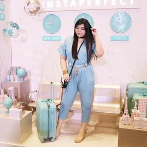Jumpsuit can be the most uncomfortable thing (and a total pain to go to the toilet with) but seriously, i never learn! Because they're just too darn cute!#ootd#girl #asian #ootdid #ootdindo #ootdindonesia  #clozetteid #sbybeautyblogger #beautynesiamember#bloggerperempuan #bloggerceria #blogger #bblogger #beautyblogger #influencer #influencersurabaya #surabaya  #beautyinfluencer #fashion #personalstyle #fashionblogger #personalstyleblogger #notasize0 #comfortableinmyownskin#effyourbeautystandards #celebrateyourself #bodypositive #pastelcolors #bodypositivity #celebrateyourself