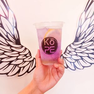 Want a refreshing, super Instagrammable drink this hot afternoon? Grab this Galaxy drink from @kope.sub , we are having a  3 days only Buy 1 Get 1 Promo!#galaxy #galaxydrink#kope #kopehappy#kopesub#kedaikope #kedaikopesurabaya#drinkstagram  #drinksofonstagram #clozetteid #sbybeautyblogger #beautynesiamember #bloggerceria #influencer #beautyinfluencer #blogger #bbloggerid #beautyblogger #indonesianblogger #surabayablogger  #indonesianbeautyblogger  #surabayainfluencer #prettydrinks #refreshing #yummy #surabaya #surabayacafe #cafesurabaya #coffeeshop