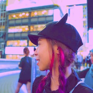 4 years ago in Osaka..#throwbackthursday #throwback #pinkhair #purplehair #unicornhair #braidedhair #radenayublog #Clozetteid