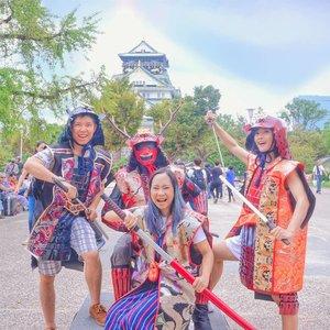 Ketahan sehari lagi di Osaka, pengalaman pertama ke Jepang penuh drama 😅 bakal banyak content deh bwt blog #japantrip3..#osakacastle #osaka #japan #jepang #kabuto #samurai #japan_of_insta #igjapan #instajapan #osakatrip #osakatravel #traveljepang #japantravel #osakajapan #japanstyle #potd #clozetteid