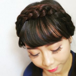 Good morning 🌸 No more bad hair day with this simple hair style, check out the easy tutorial NOW http://imaginarymi.blogspot.com ✨  #hair #braidedhair #milkmaidbraid #imaginarymi #clozetteid #hairstyle #hairtutorial #selfie #selca