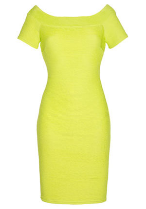 Clothing at Tesco | F&F Limited Edition Ribbed Bodycon Dress > dresses > Dresses > Women