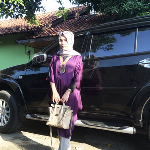 Eid Outfit. #ootd #hijab #makeup #fashion #blogger #bloggerindonesia #clozetteid