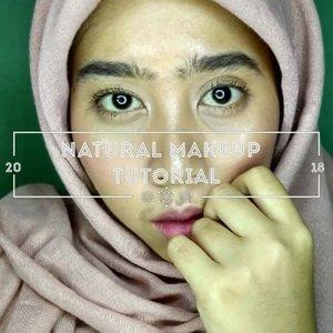 Natural Makeup LookBuat cewek-cewek, ibu-ibu yang pacar/suaminya demen ngeliat yang natural, bisa dicoba. Natural ala saya 😉..Alis - LT Pro Eyebrow CreamFoundation + Concealer - Milani 2in1 Foundation Contour - Latulipe Contour KitBlush - FanboMascara - Maybelline Highlighter - City Color Eyeshadow Lips - Wardah Lip CreamSong: Natural by Imagine Dragons ...#naturalmakeuptutorial #beautyjunkie #makeuptutorial #clozetteid #beautyenthusiast #beautybloggerindonesia #beautiesquad #beautygoersid #kbbvfeatured #beautyranger