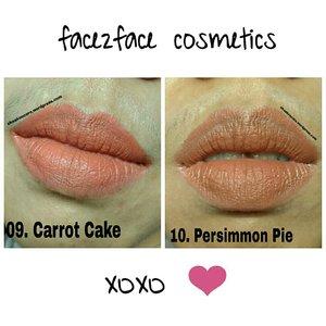 Swipe untuk swatch nya.  Yang pengen lipenan tapi masih natural dan gak menorisasi, bisa pake warna beginian. Lipstick matte yang gak kering dari @f2f.cosmetics gak bikin bibir ngglodoki dan gak kerasa nggedibel.  #beautybloggerindonesia #beautyreview #face2facelipstick #mattelipstick  #nudelip #lipjunkie