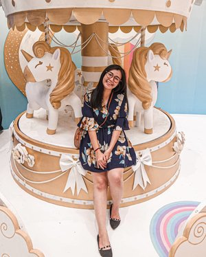 ᴜɴɪᴄᴏʀɴ ᴄᴀʀᴏᴜꜱᴇʟ  at #MOIunicornland 🦄 🎠 ❤ ... 📍 main atrium ground floor of @mallofindonesia Open until 14 juli 2019 Entrance Fee : 50k/person ------- Cuma mau info tinggal beberapa hari lagi ! DON'T MISS IT GUYS 👌 #unicorn  #unicornland #shoxsquad  #clozetteid