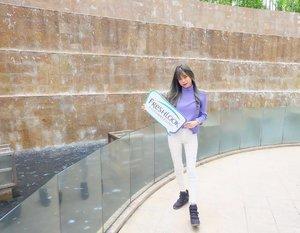 Previous #ootd for freshlook x clozetteid Gathering in Jakarta. ...[ 📸 : @jessicasugiharto ] #ootdindo #freshlookid #Freshselfielookjkt #clozetteid #clozette #starclozette #asian #haircrush #beautyblogger #beautybloggerid #beautyinfluencer #beautynesiamember #beautynesia #lookbookindo