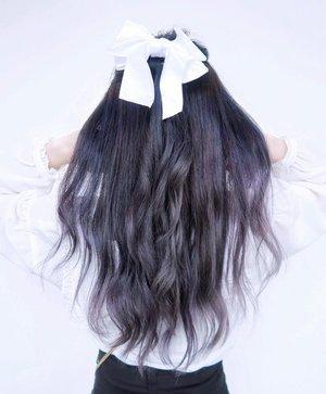 Bosen sama warna rambut terang, akhirnya nyoba gelapin ❤️🤯 Wdyt? .....#hair #style #potd #clozetteid #clozette #linetodaylife #hairventure