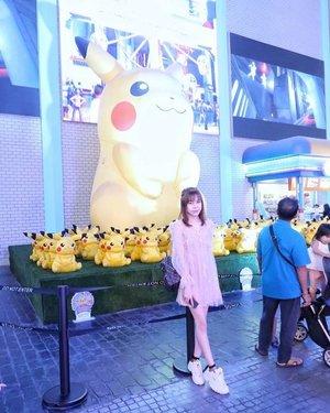 Peeka peeka #pikachu ! ⚡️ Can't wait 😌 #clozette #clozetteid #genting #kl #potd #ootd #tbt