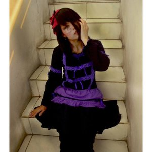 My sweet broken doll #happyhalloween #clozetteid #cotw #clozettehalloween