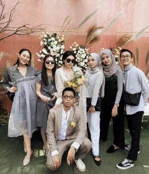 The coolest yet happiest wedding i've ever attended. You definitely can feel the love in the air. Once again, congratulations Kak @nisca_ ✨