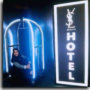 Yesterday I checked in at #YSLBeautyHotel.#YSLBeauty#YSLBeautyID#YSLBeautyHotelID#ClozetteID #ClozetteDaily
