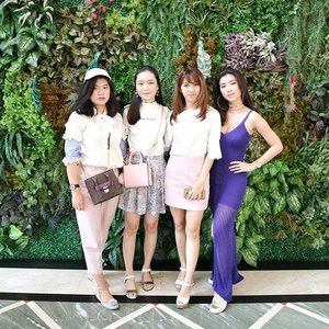 At @socialcosmetics event yesterday with @jenniverge @ellenstephaniee @kantywidjaja nice to meet ya all❤ Anyway the post will be up on the blog this week!😊 #clozetteid #gegeciellaootd  #SayYestoFlawless